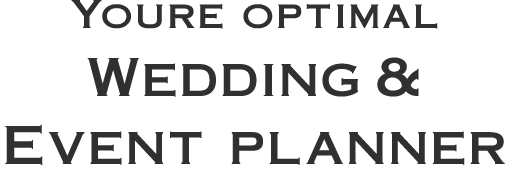 Your Optimal Wedding & Event Planner