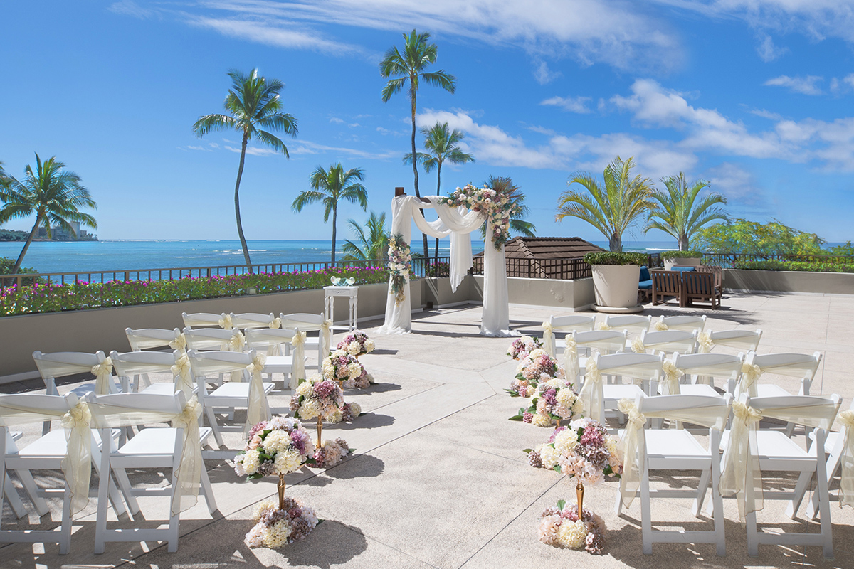 Hau Terrace Lanai Wedding