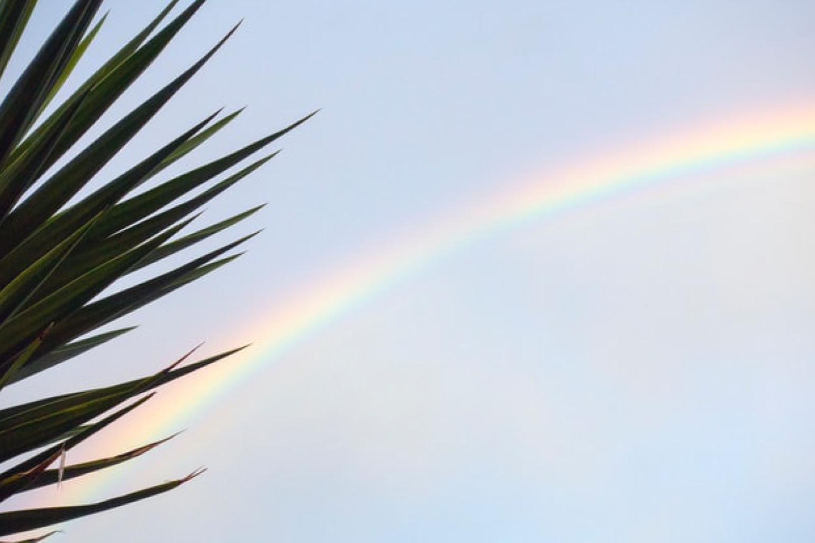ハワイと虹の繋がり