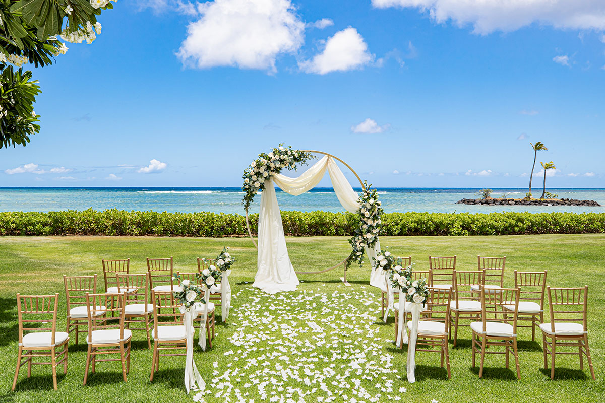 The Kahala Welina Garden Wedding